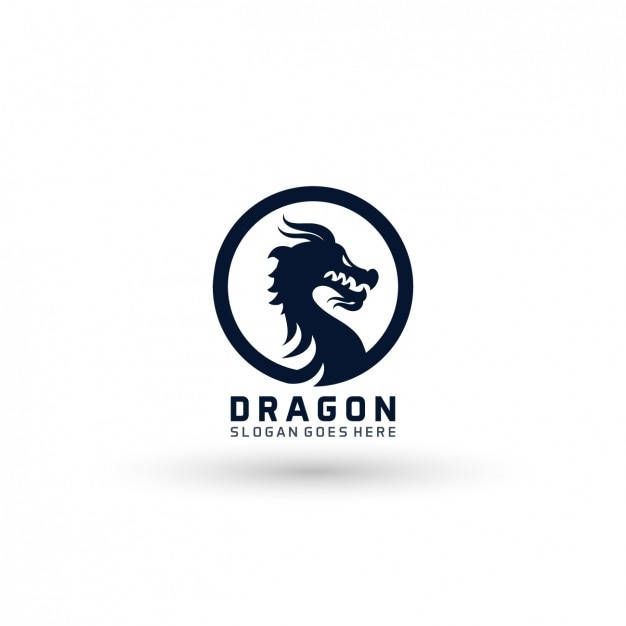 dragon logo template vector free download