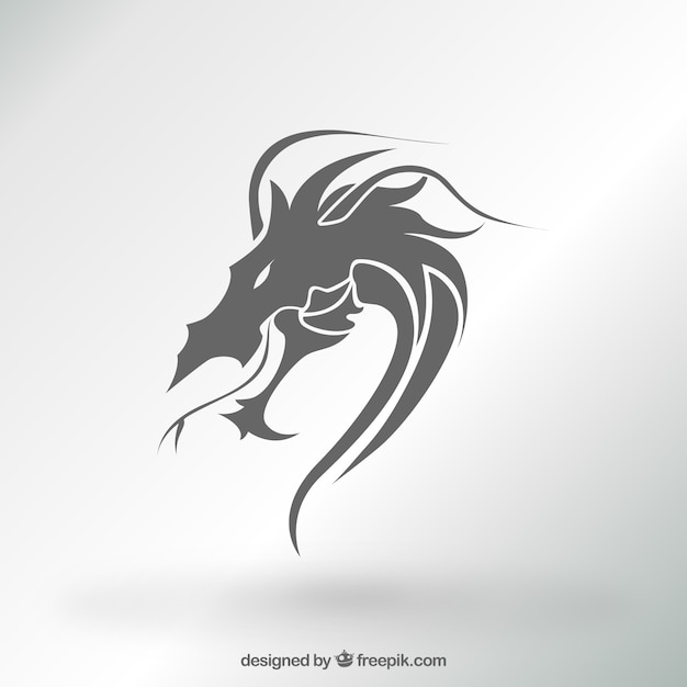 √ Free Dragon Logo