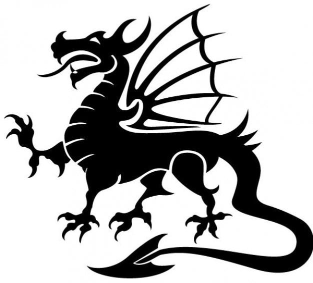Dragon Vector Image Free Vector