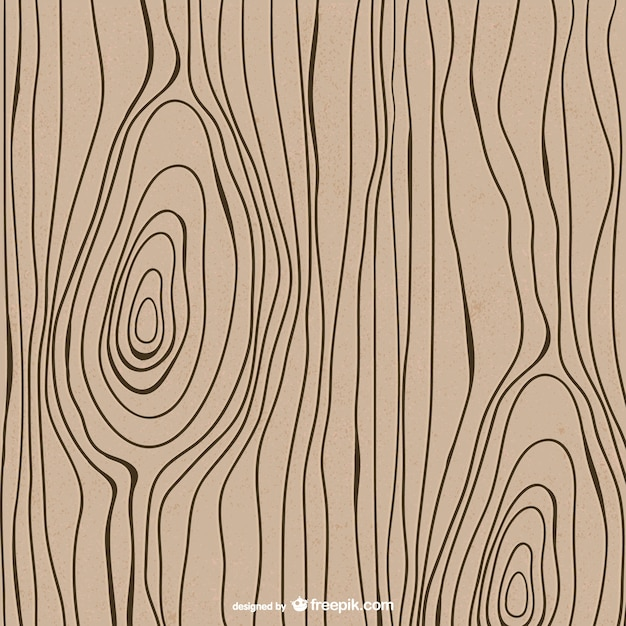Line Art Wood Grain : Drawn wood texture vector free download