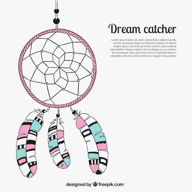 What Are Dream Catchers Supposed To Do Dream catcher cartoon Vector Free Download 32