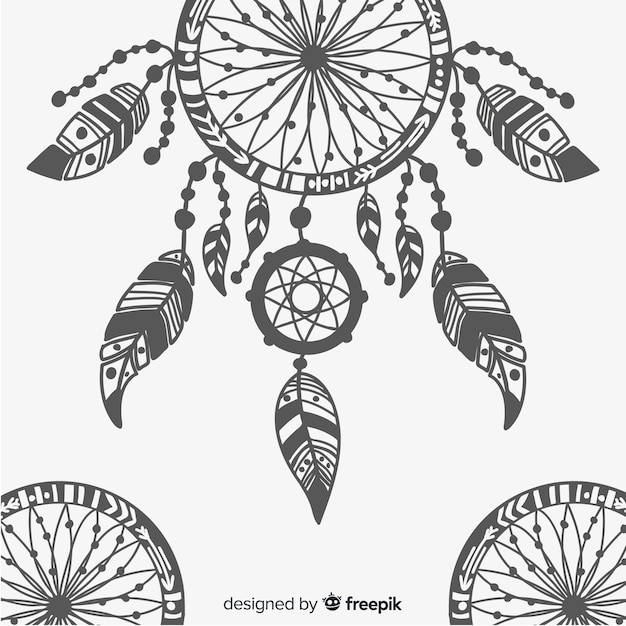 Dream catcher Free Vector