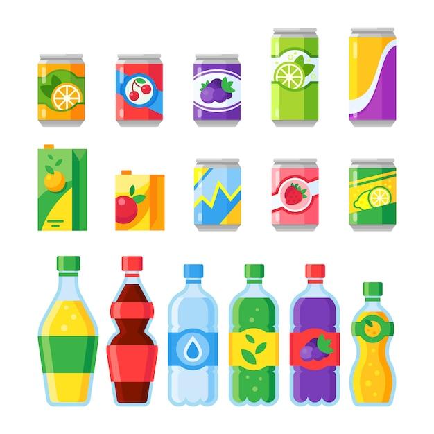 Drink beverages Premium Vector