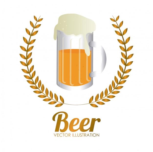 Drinks design Premium Vector