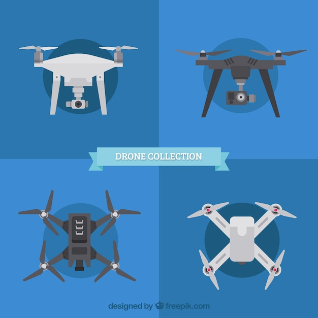 Drone collection with modern style