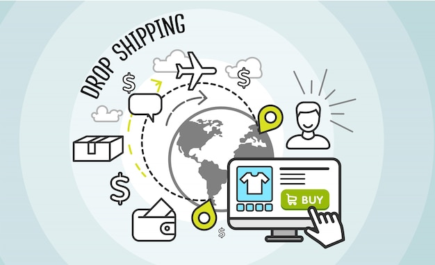 drop shipping concept dropship cargo buy 21809 1 - HOW TO START DROPSHIPPING BUSINESS.