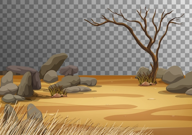 Пейзаж суши Бесплатные векторы