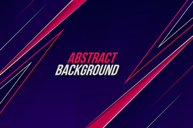 Dynamic abstract motion background Premium Vector
