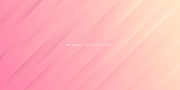 Dynamic gradient of pink background Premium Vector