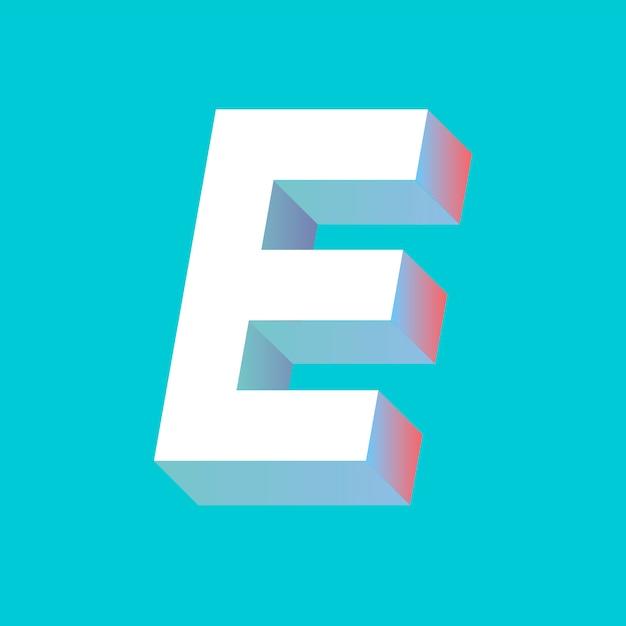 E письмо Бесплатные векторы