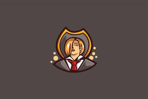 ヴァンパイアeスポーツのロゴ Premiumベクター