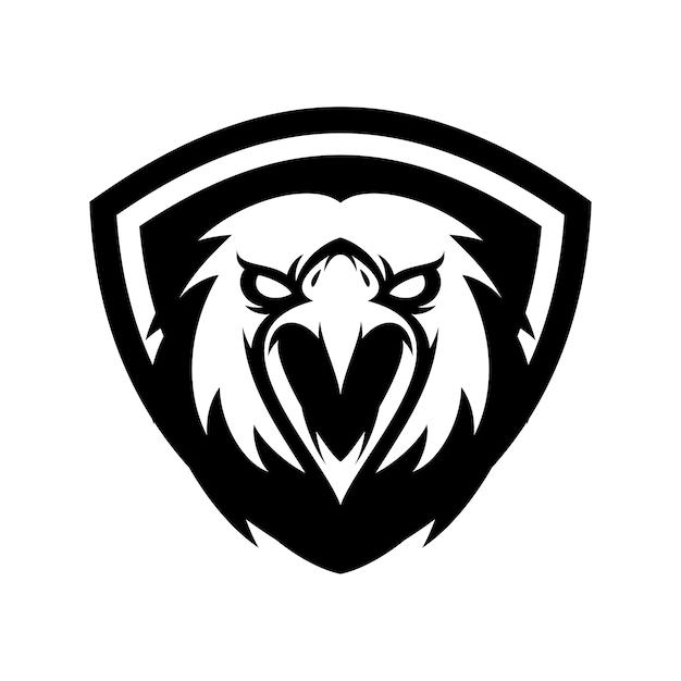 eagle bird animal sport mascot head logo vector vector premium