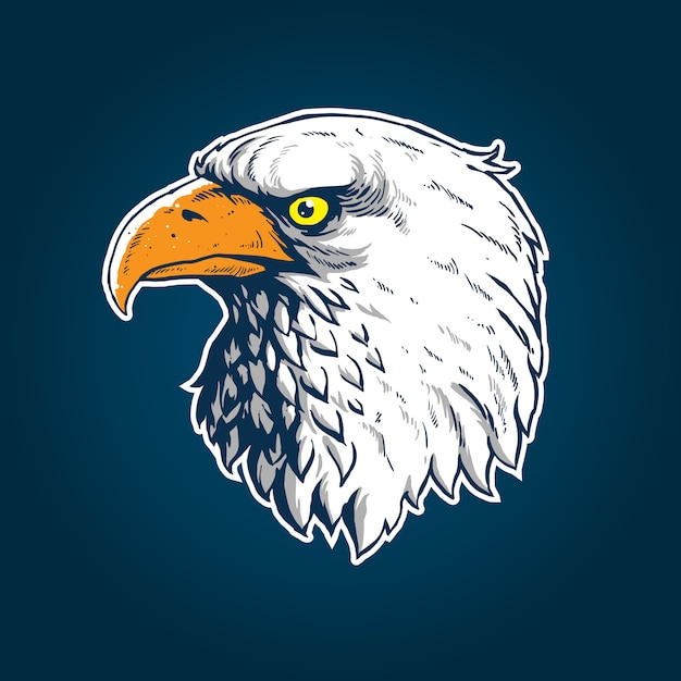Eagle Head Vector 6 Clipart images   Free clip arts