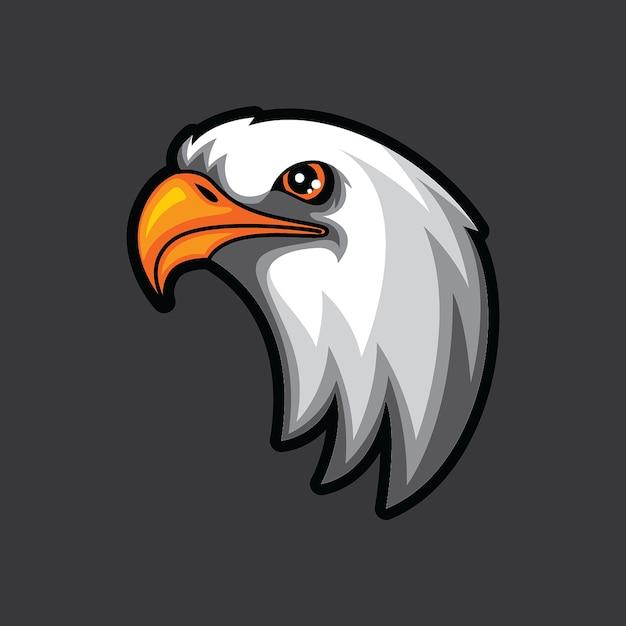 Eagle head logo template Vector | Premium Download