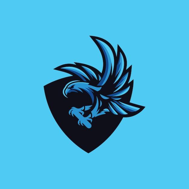 Eagle logo collection Premium Vector