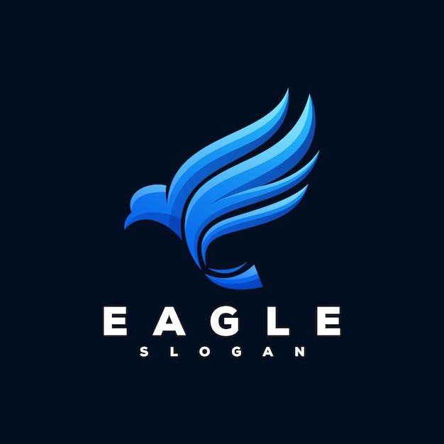 Eagle logo ready to use Premium Vector