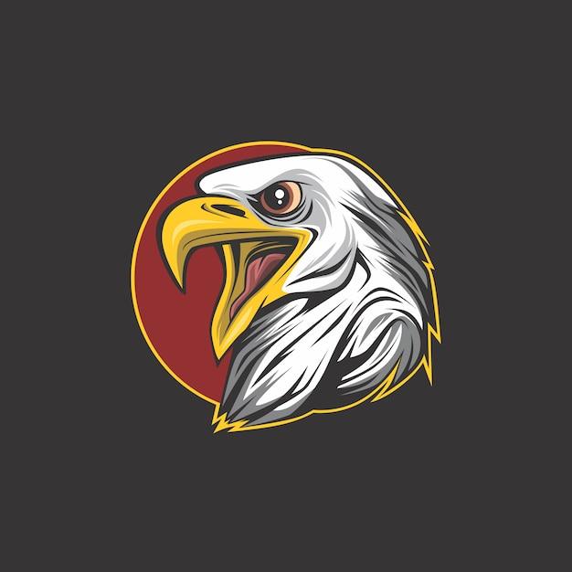 Орел логотип Premium векторы