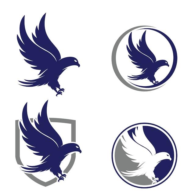 Eagle logo Premium Vector