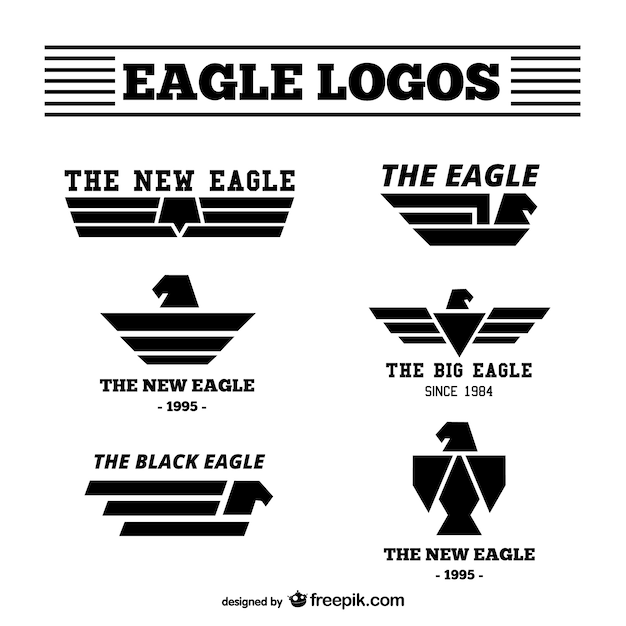 Célèbre Eagle logos pack Vector | Free Download IE44
