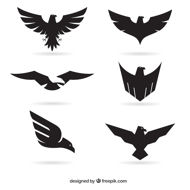Eagle logos Vector | Free Download