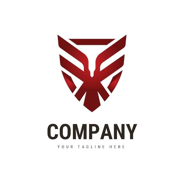 eagle shield logo vector premium download rh freepik com American Eagle Shield American Eagle Shield