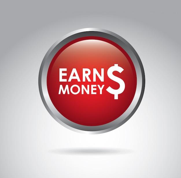 Earn money Premium Vector