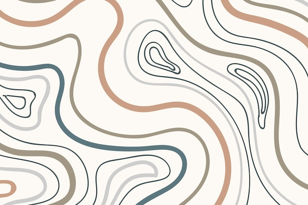 Earth tone patterned background Free Vector