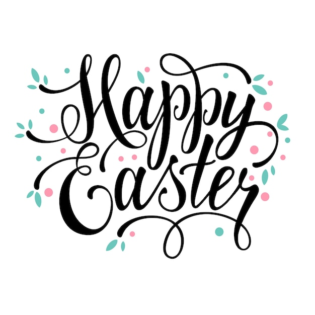 Easter background design vector free download