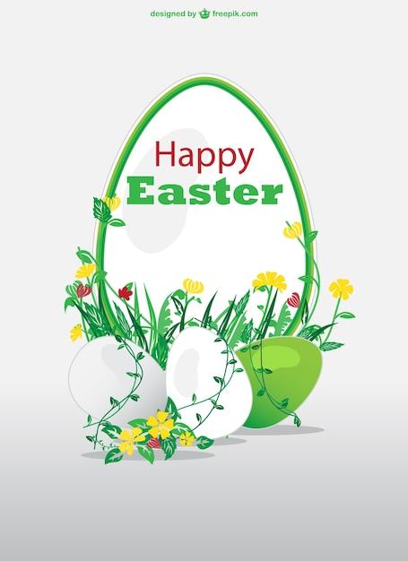 Easter card design Vector – Easter Card Designs