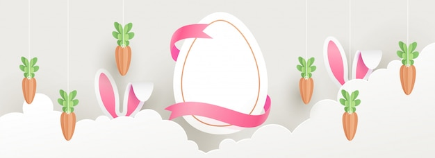 Easter concept. Premium Vector