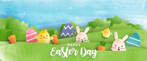Farmhouse Easter Easter Decor Easter Banner Easter Bunny Banner Farmhouse Easter Plum Spring Color Banner