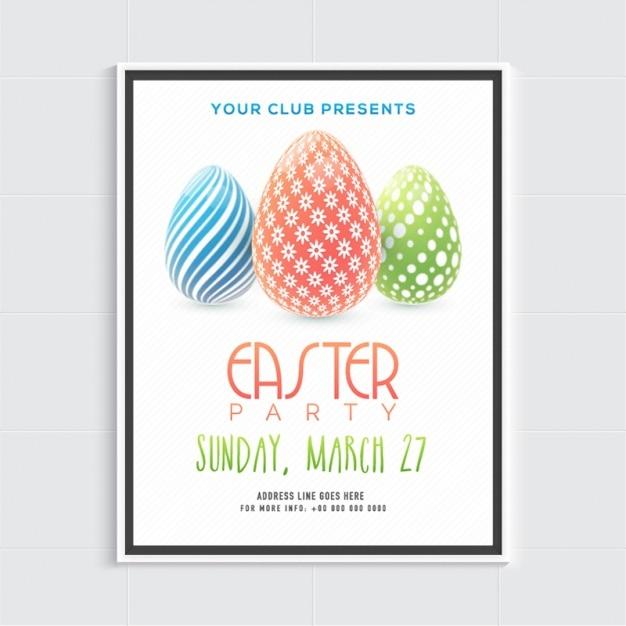 Easter Brochure Template