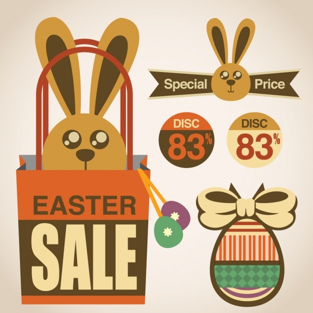 Easter Sale: Easter Sales Designs Collection Vector