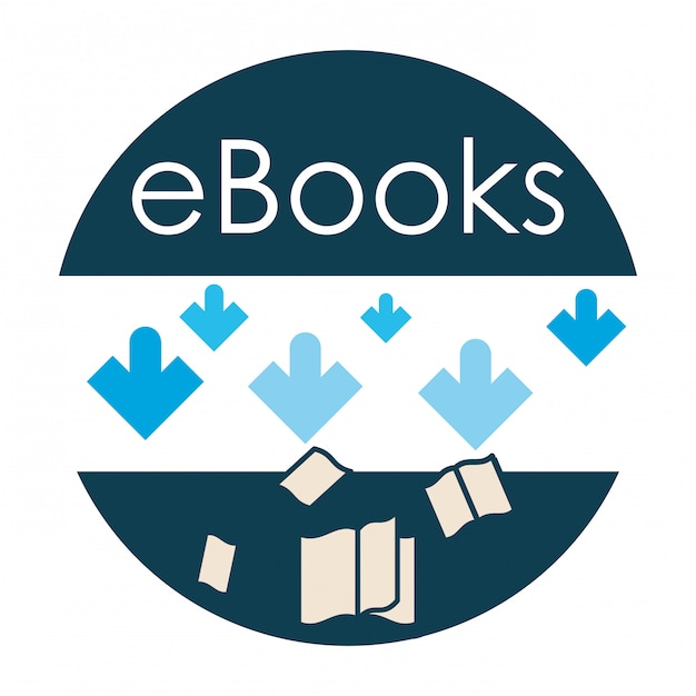 Ebook icon design | Premium Vector