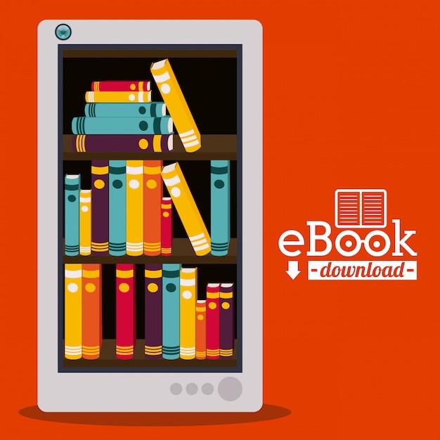 Ebookデザイン Premiumベクター