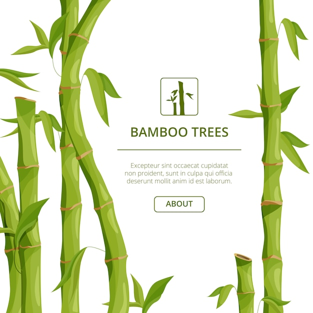 Eco background pictures with decorative Premium Vector