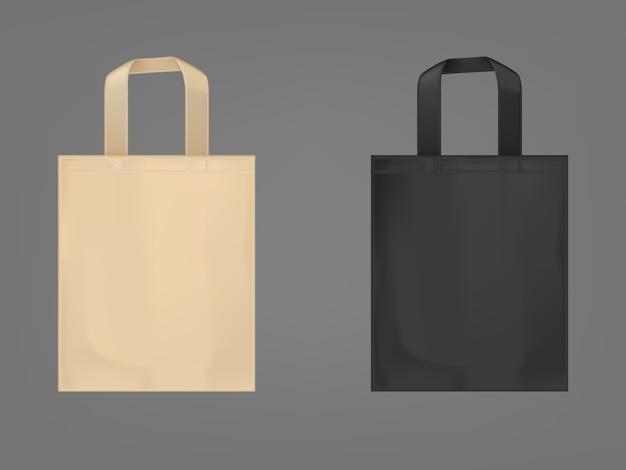 Set di borse ecologiche Vettore gratuito