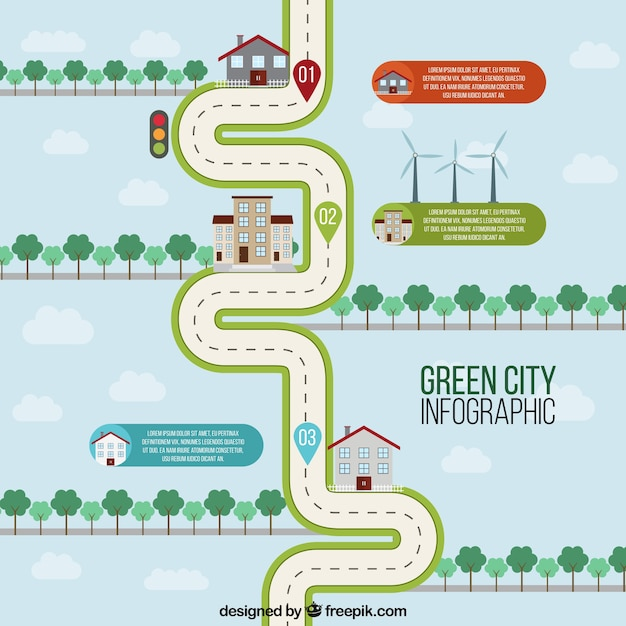 Road map vectors photos and psd files free download ecological city road map pronofoot35fo Choice Image