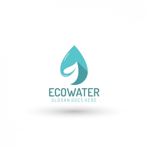 Ecological Water Company Logo Template