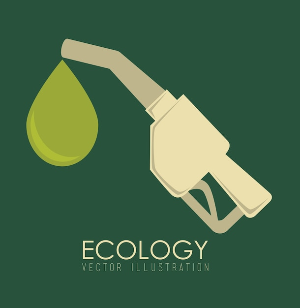 Ecology design Premium Vector