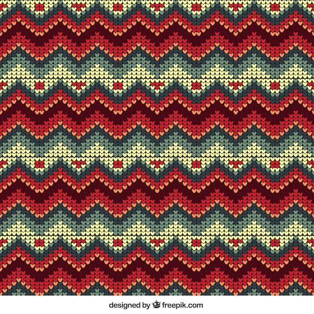 Editable christmas pattern Free Vector
