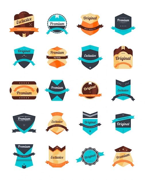 Editable label sticker vector graphic art design illustration Premium Vector