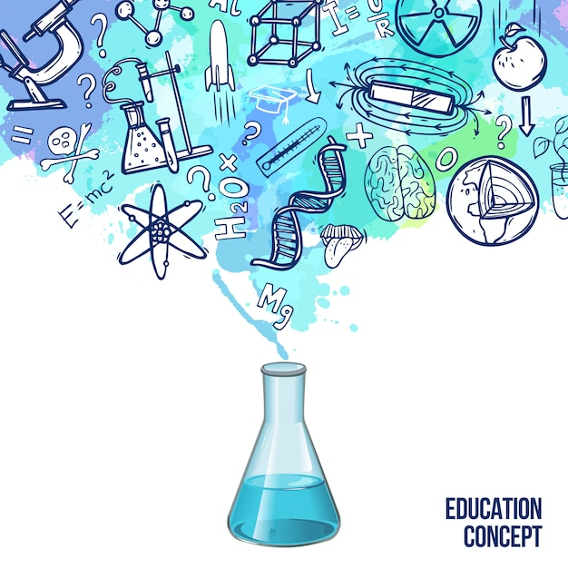 Science Technology Engineering And Math Education For: Biology Vectors, Photos And PSD Files