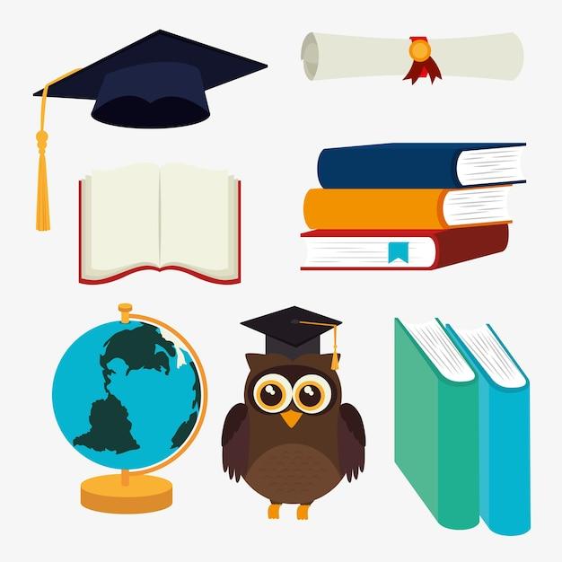 Education design, vector illustration. Premium Vector