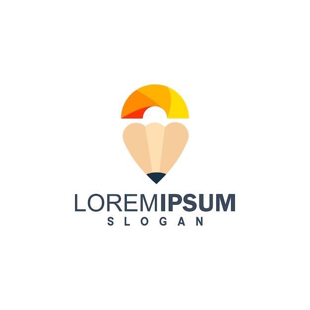 Education logo Premium Vector