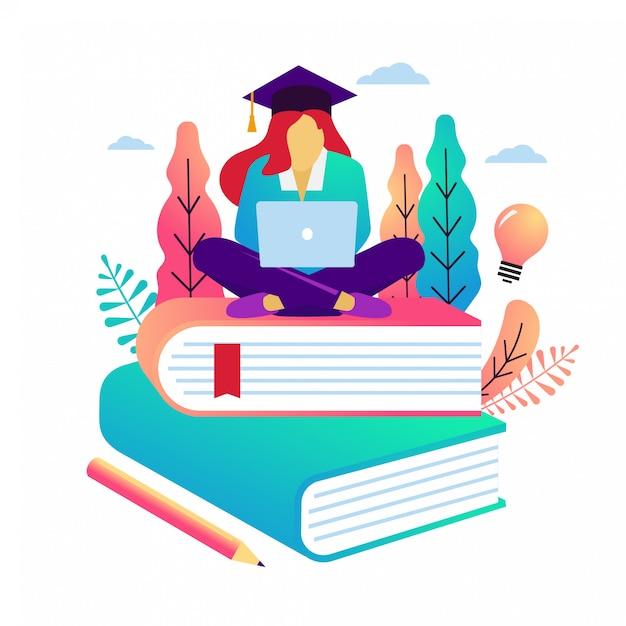 Education vector illustration Premium Vector