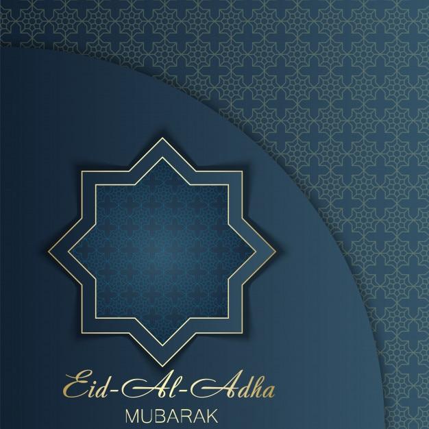 Eid al adha greeting card template arabic ornaments vector eid al adha greeting card template arabic ornaments premium vector m4hsunfo
