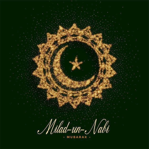 Eid milad un nabi barawafast card Free Vector