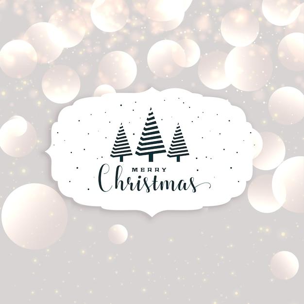 Eleagnt christmas seasonal background design Free Vector