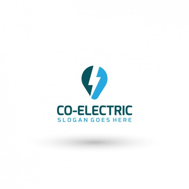 Electric company logo template vector free download electric company logo template free vector cheaphphosting